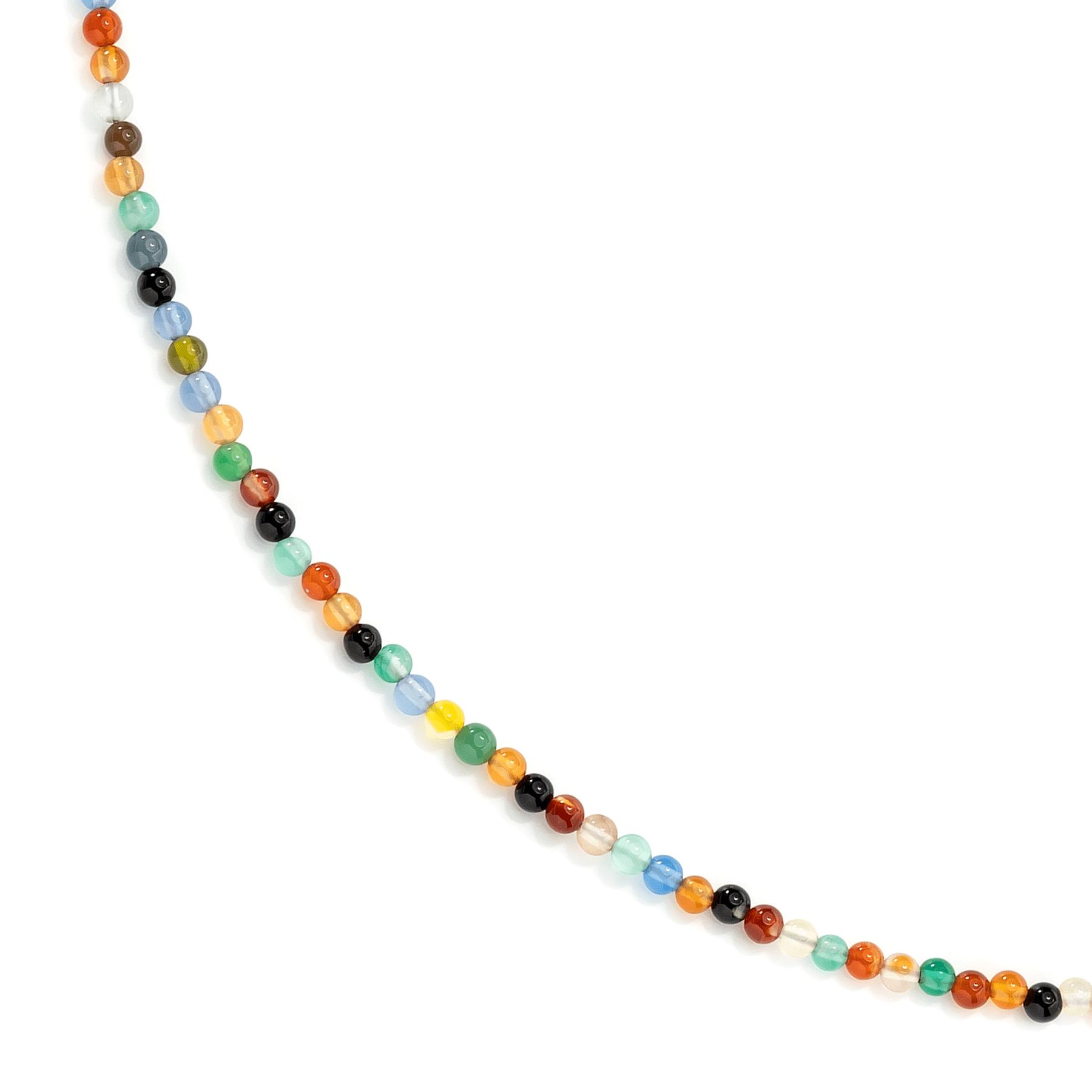 Kolorowe naszyjniki z kamieni naturalnych