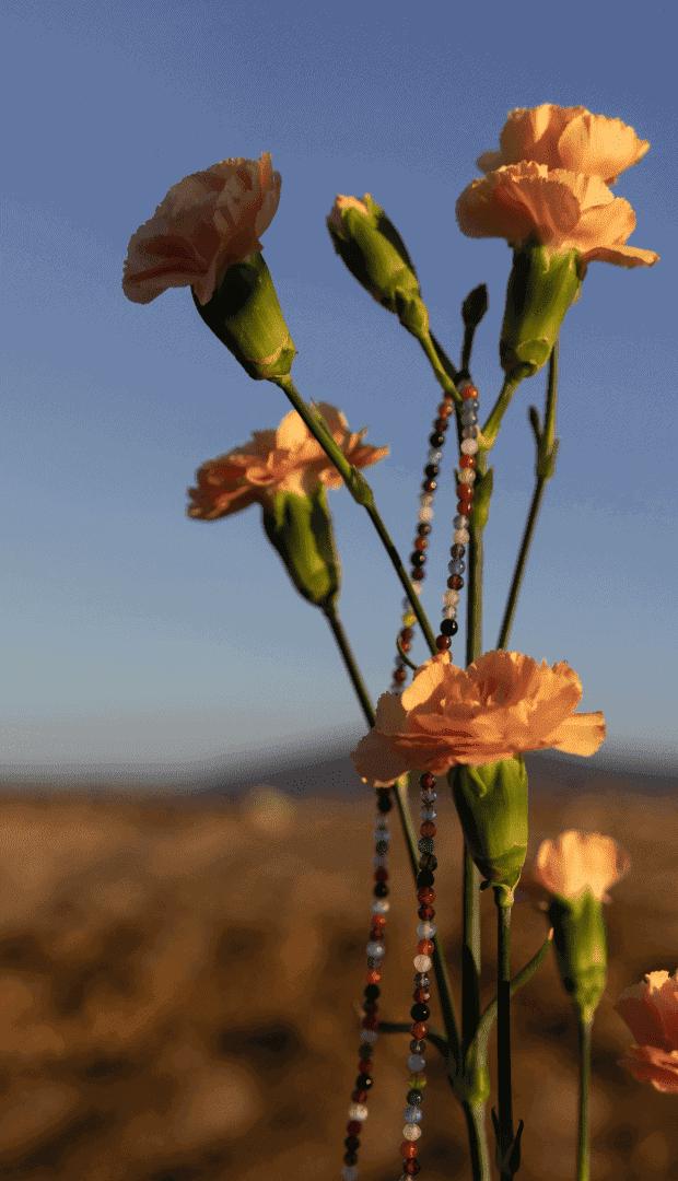 Naszyjnik z kamieni naturalnych